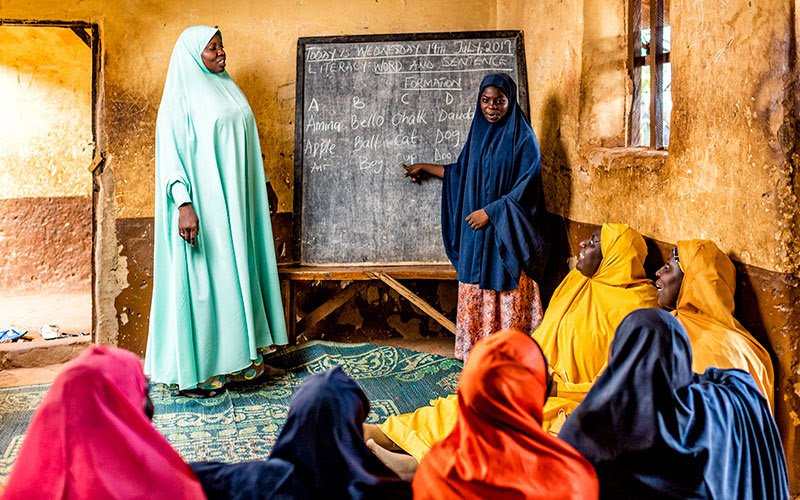 But thanks to a @centre4girlsed scholarship, supported by Malala Fund donors, Suhaila can now read and write fluently in Hausa and English — and shes studying to become a science teacher. mala.la/2zp8U2E