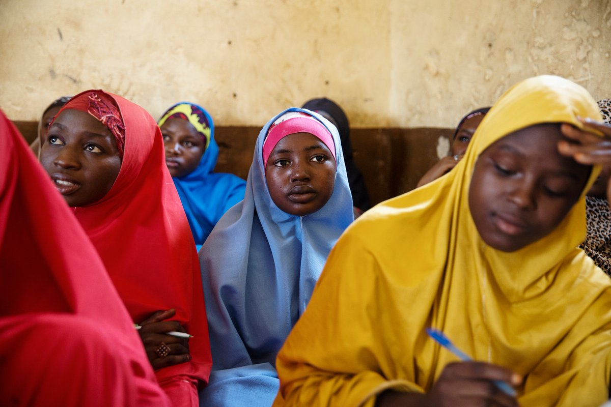 At age 11, Suhaila didn't know how to write her name — the poor quality of schools in her northern Nigerian community prevented her from learning.