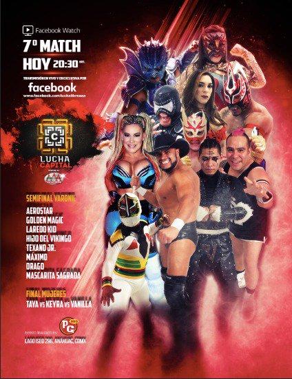 AAA: Taya es la primera Campeona de Lucha Capital 1