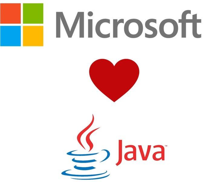 Microsoft goes Java