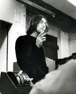 Laurent The Walrus On Twitter Johnlennon At The Recording Sessions Of The White Album 1968 Thebeatles