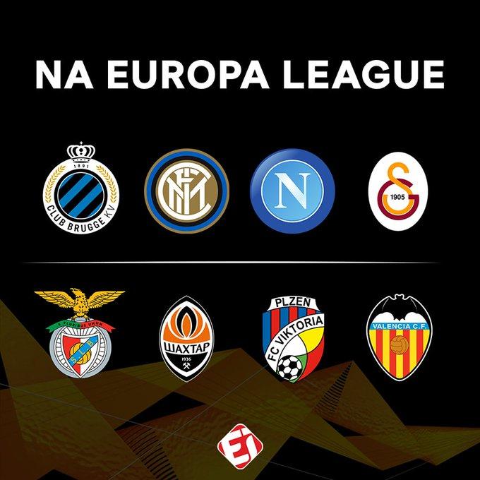 E com o fim da fase de grupos da Champions League, esse são os terceiros colocados que se classificaram para Europa League! E aí, algum desses é favorito? Photo