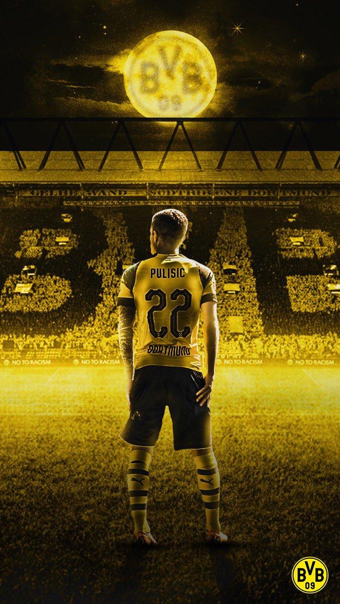 Borussia Dortmund On Twitter Christian Pulisic Wallpaperwednesday