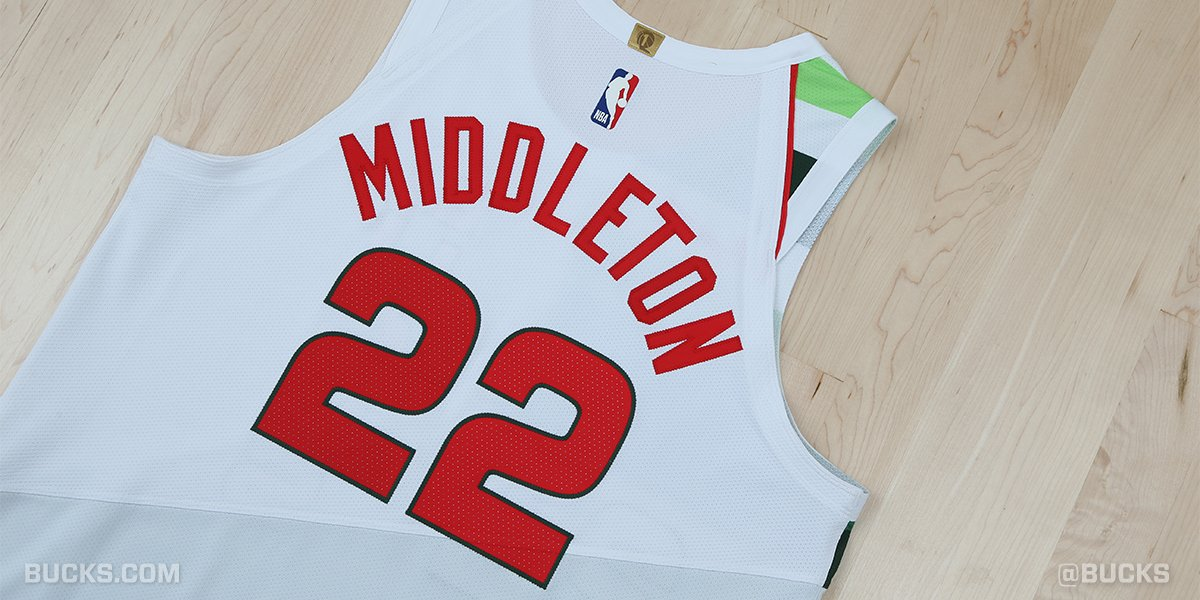 size 40 d4866 a64c5 Milwaukee Bucks - Twitter Tweet - Full details on the Earned ...