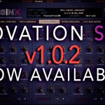 Image for the Tweet beginning: Novation SNX version 1.0.2 available