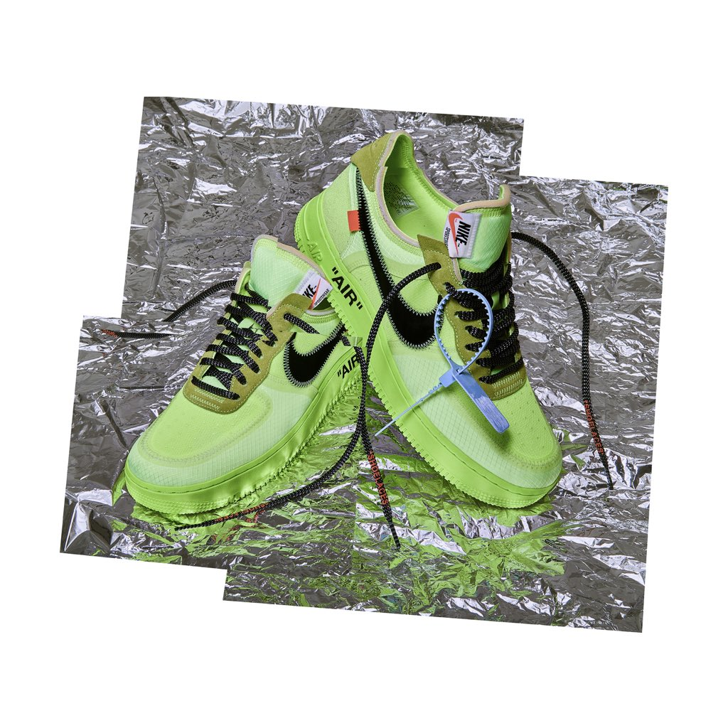 0f71b90f0bb22 The OFF WHITE x Nike Air Force 1 'Black' and 'Volt' raffle is now live on  the Footpatrol blog for an IN-STORE ONLY PURCHASE.