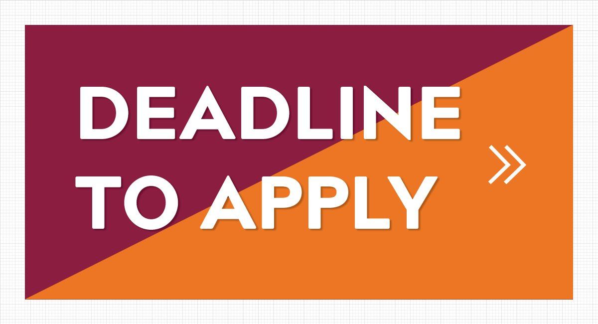 Virginia Tech Aoe On Twitter Grad Students If You Want To Receive Full Consideration For Funding For The Fall 2019 Semester You Must Submit Your Application No Later Than December 30 2018