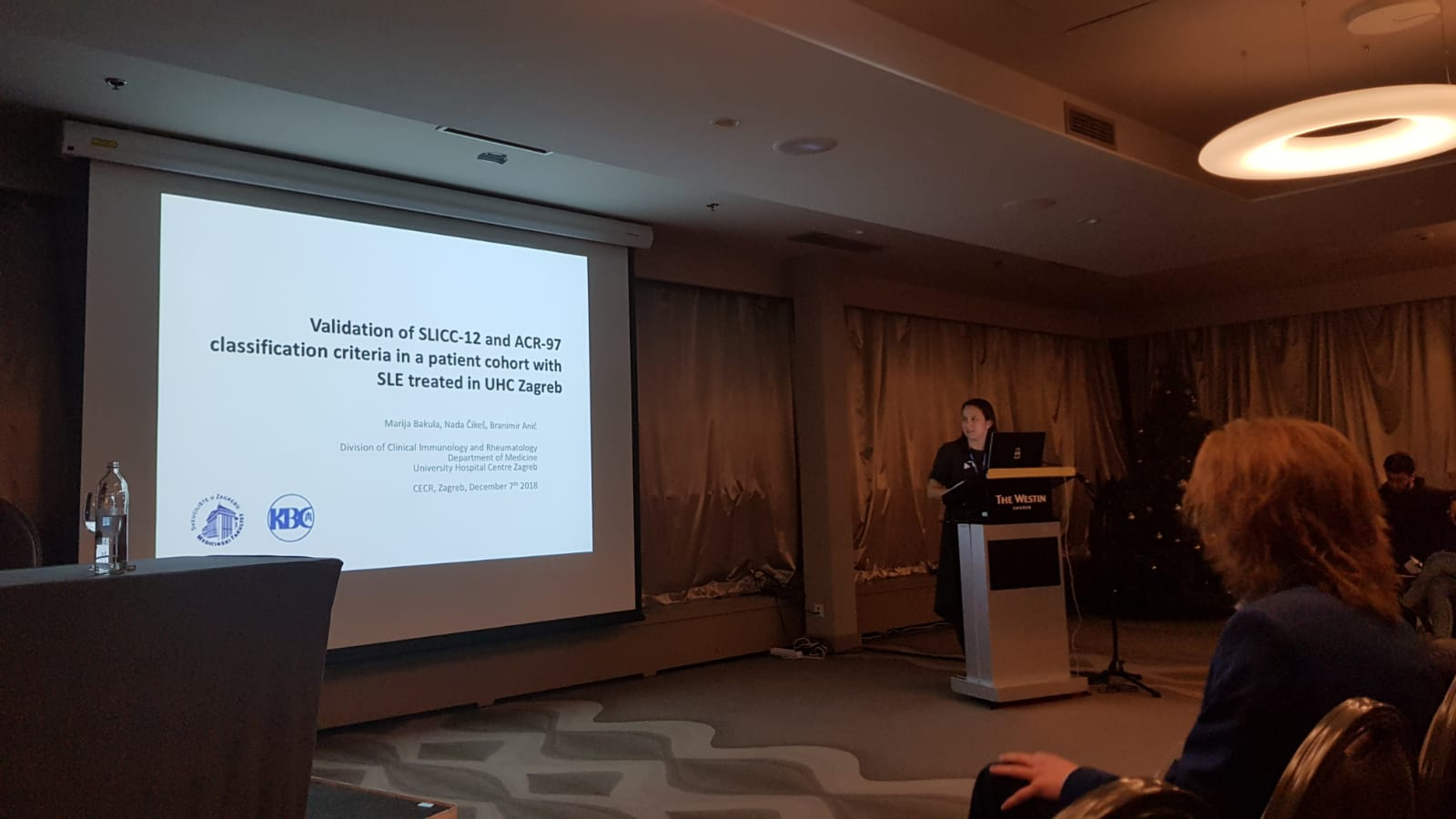 Emeunet On Twitter At Cecr In Zagreb Last Week Emeunet S Dr Marija Bakula Gives Her Talk At The Young Rheumatology Session On Her Validation Project Of The Acr97 And The Slicc12 Classification