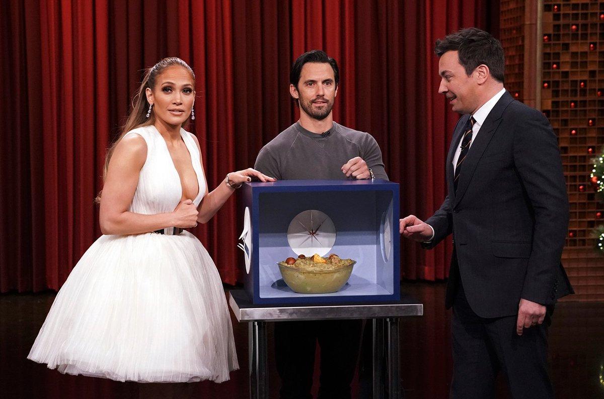 Jennifer Lopez talks #VMAs and new film 'Second Act' on 'Fallon' https://t.co/umGEYYaLbf