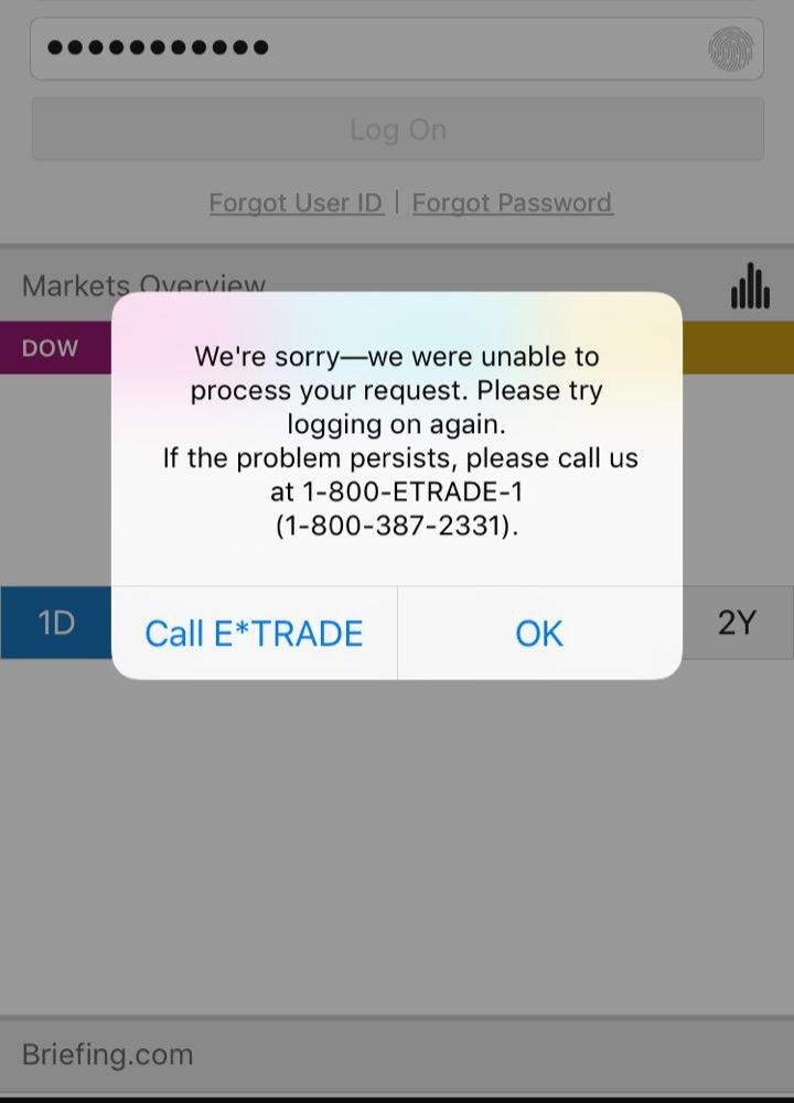 Learn These Etrade Login Problems {Swypeout}