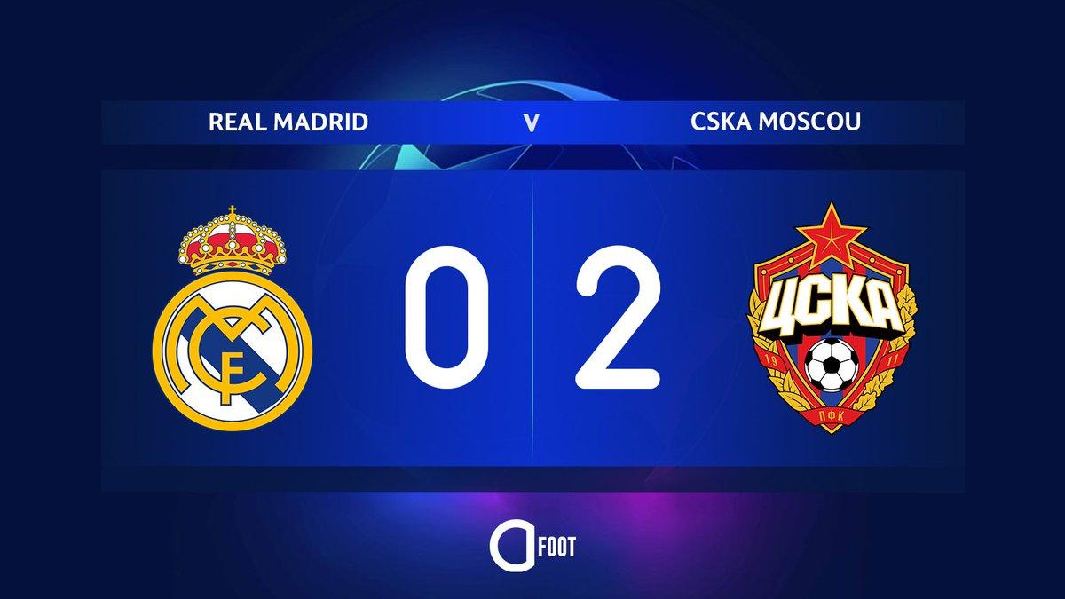 ⚽️ BUUUUUUUUUUT DE SCHENNIKOV !!!  REAL MADRID  0-2  CSKA