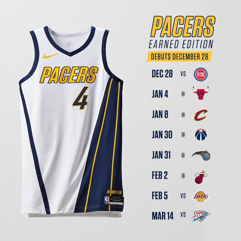 new style 1a409 3702f Indiana Pacers on Twitter: