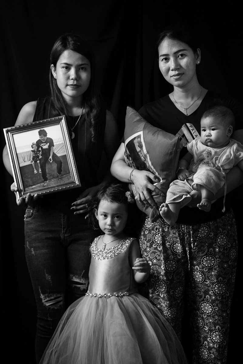 The past year has been grueling. Pan Ei tol @TIMEd :  'Some Facebook friends attacked me and would ask, 'Can't you control your husband?' They called him and Kyaw Soe Oo traitors. I have become numb to ithttps://t.co/NEUJbsok49. '  (Great photo @moises_saman  #FreeWaLoneKyawSoeOoby )