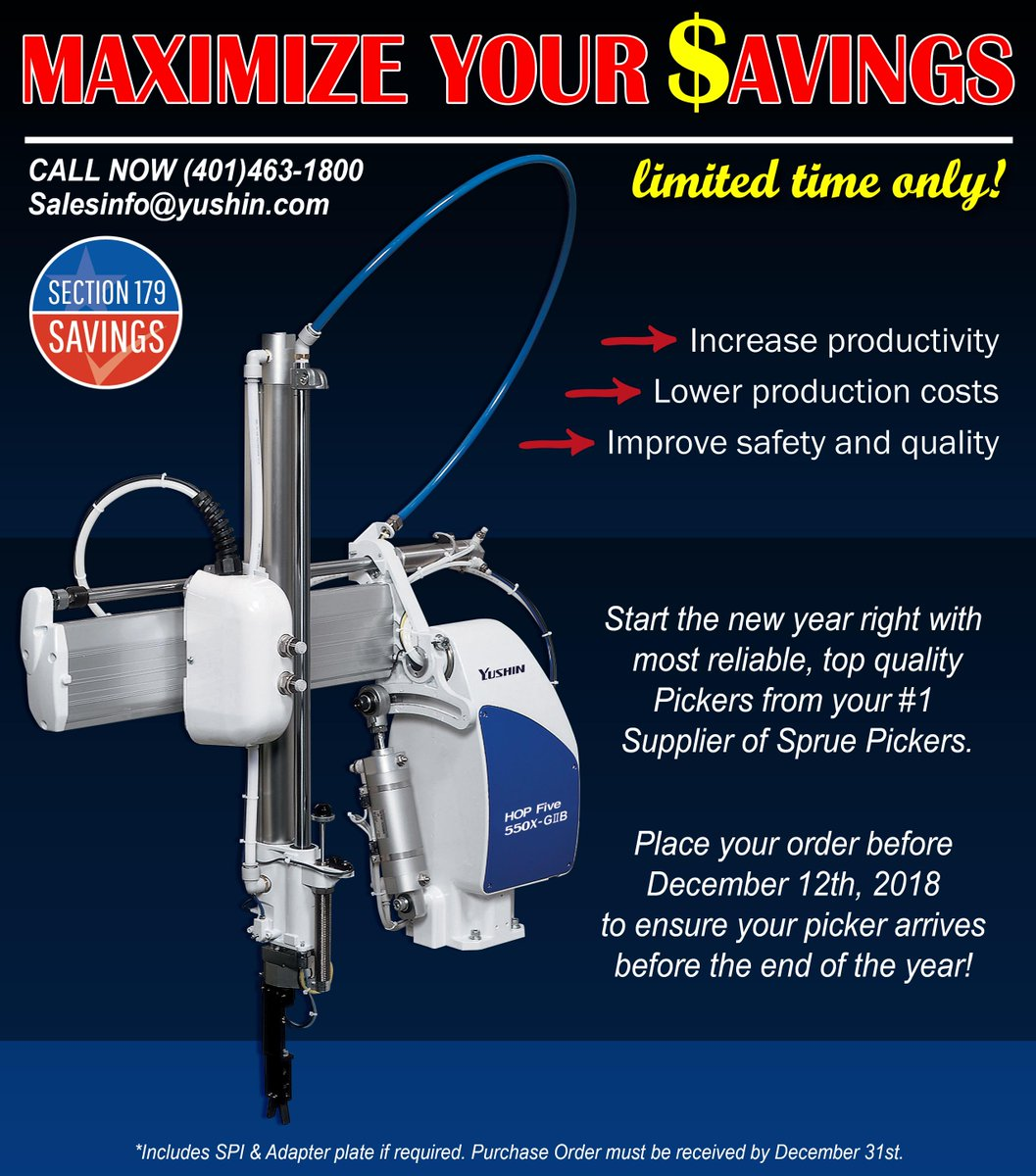Order your HOP Five Sprue picker before the year ends at a special  offer..Put your Tax Savings to better use with a reliable Picker that can  get the job ...