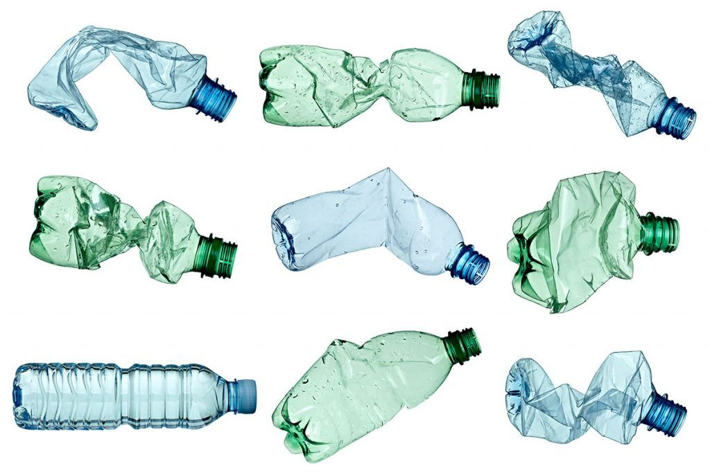 25 percent recycled plastic in the packaging