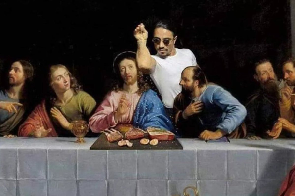 Jordanian authorities were unamused by Salt Bae being added to 'The Last Supper' https://t.co/4GwGxJF9UU