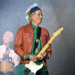 Keith Richards Twitter Photo