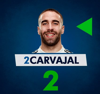 74' | 0-3 | 🔁 Final substitution as @DaniCarvajal92 replaces @MarceloM12. #RMUCL