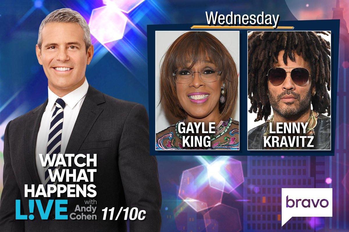 Twitter loved Gayle King flirting with Lenny Kravitz