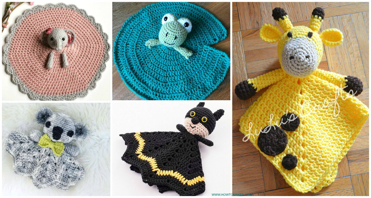 Marvin On Twitter Baby Lovey Blanket Free Crochet Patterns