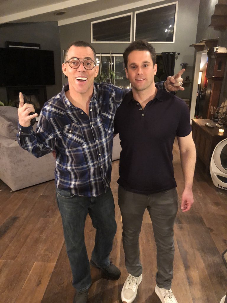 #steveo #jackass. SO FUN taping an upcoming episode with Steve-O  yesterday!!! #steveo