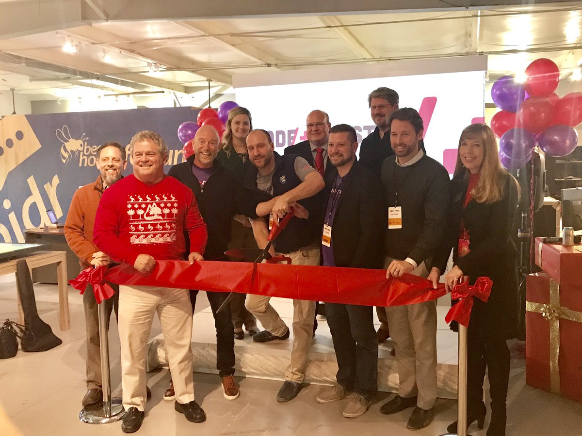 Enjoyed helping cut the ribbon for one of the newest tech companies in the Lowcountry, Code/+/Trust, at their grand opening today in Mt. Pleasant. Congrats to co-founders @bpatrickbryant, Sam Staley, and Andrew Strickland! Keep up the great work! #SC01<br>http://pic.twitter.com/Yjb7xtX0m3