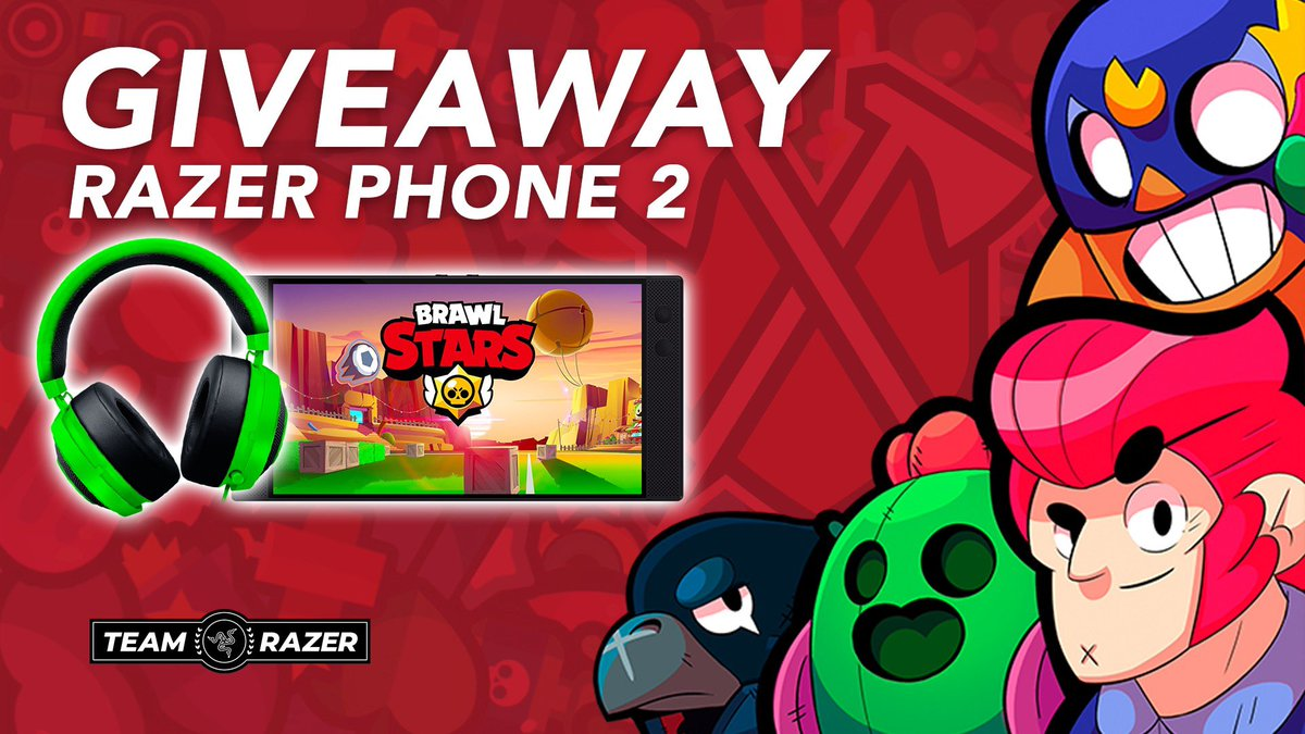 GLOBAL LAUNCH IS HERE!   Want to play Brawl like a pro? We&#39;re giving away a @Razer Phone 2 + a Kraken Pro v2 headset!   To enter, simply:  Retweet, and   Join #TRIBEBS&#39;s Discord server and react to the message in #giveaway!   Discord:  https:// discord.gg/2SEzVww  &nbsp;  <br>http://pic.twitter.com/dnIcadU3IH