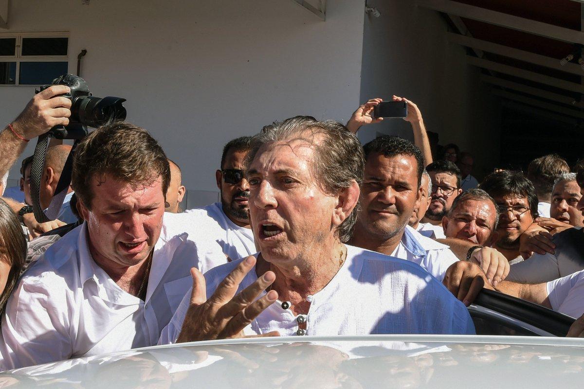 Ministério Público de Goiás pede prisão do médium João de Deus https://t.co/Fuy8ZR4ilC