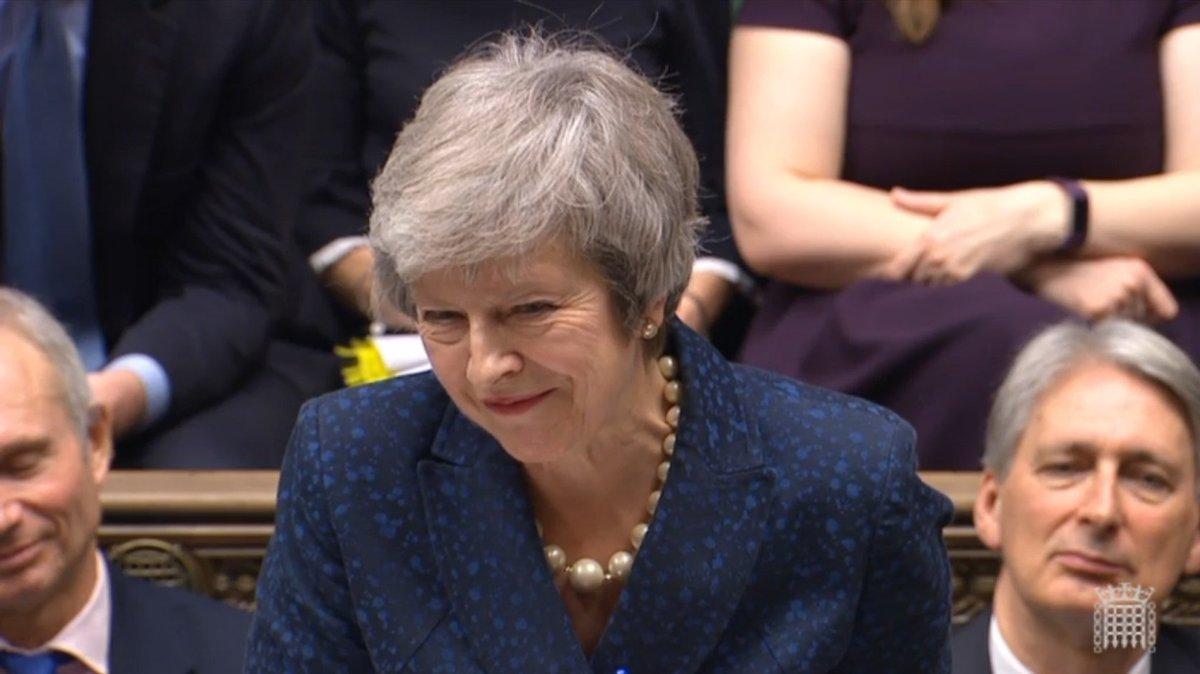 Theresa May wins #confidencevote