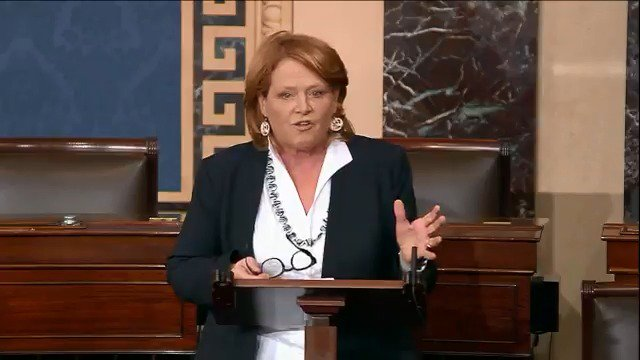 Sen. Heidi Heitkamp on Twitter