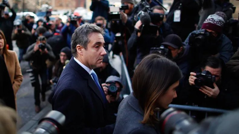 """""""A veritable smorgasbord of fraudulent conduct"""": Michael Cohen gets 3 years in the clink https://t.co/NgLPBIWYpG"""