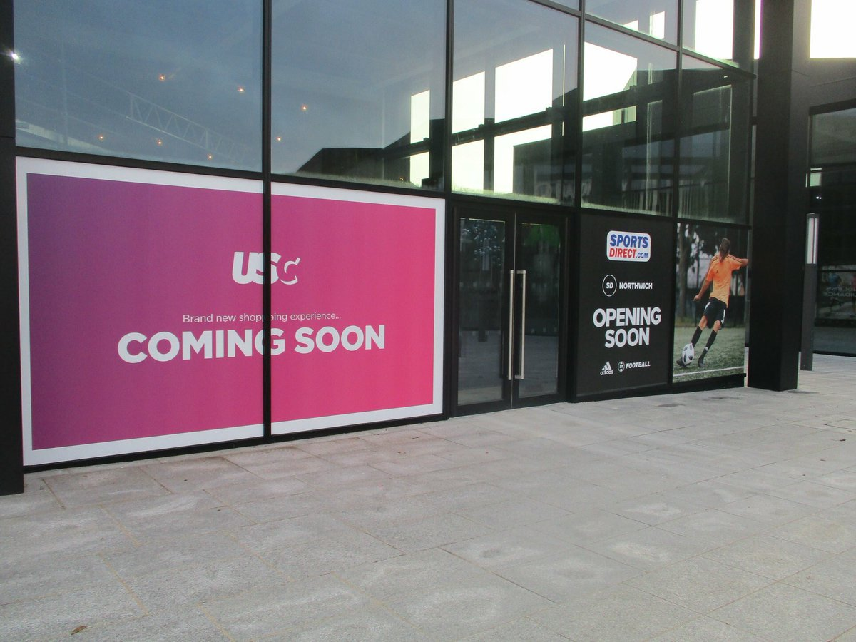 Sports Direct and USC coming soon to #BaronsQuay #northwich @barons_quay @NorthwichBID<br>http://pic.twitter.com/AGBRU18T2h