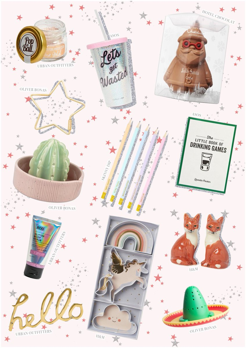 NEW POST: GIFT GUIDE: For The Secret Santa. >> http://www.poppydeyes.com/gift-guide-secret-santa/… … <<