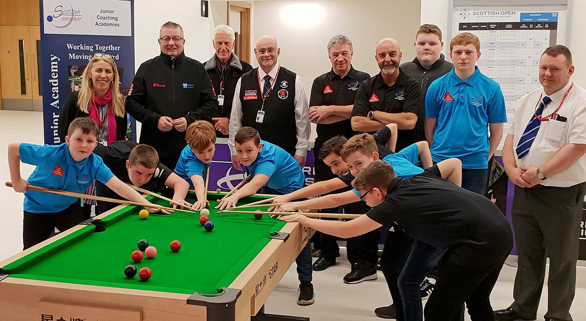 🏴 SCOTLAND | It has been great to see so many children getting involved with snooker at the Cue Zone this week with @SnookerScottish and our team of @WPBSAofficial World Snooker coaches View more photos at Facebook 👉facebook.com/media/set/?set… #Cue4All