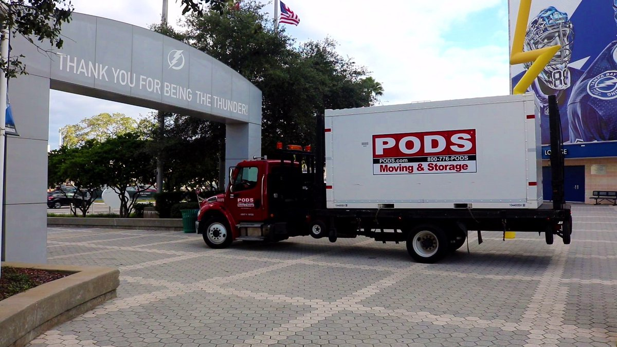 Pods Moving And Storage >> Pods On Twitter Thank You Tblightning Fans For Another