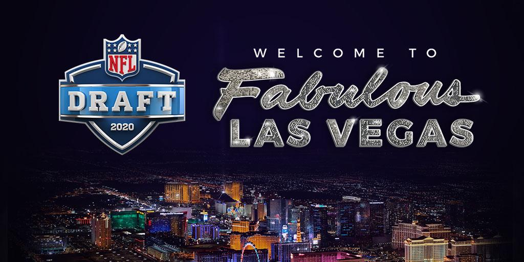 The 2020 @NFLDraft is headed to Las Vegas!  MORE: https://t.co/V5lYBGiaHC #NFLDraft https://t.co/3PekiAlwLM