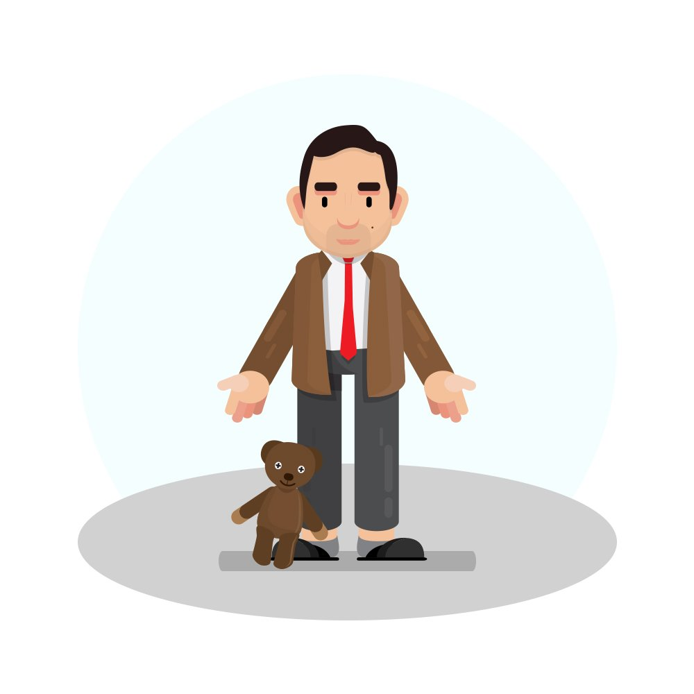 This is one of my favorite characters of all time, Rowan Atkinson as Mr.Bean. Do you like him?  #bcreative #budlacreative #RowanAtkinson #mrbean #bean #flatart #illustration #designinspiration #graphicdesign #character #comedy #teddy #vector<br>http://pic.twitter.com/A4nZR3CA6m