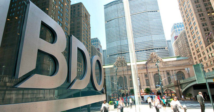BDO's Global Revenue Hit $9 Billion Mark in 2018: We could have been dicks and not rounded $8.99 billion up to $9 billion, but we decided to be nice. From BDO worldwide headquarters in Brussels on Dec. 11: BDO, one of the world's… https://t.co/nB91ll0xfG via @goingconcern