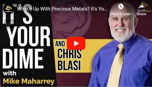 Chris Blasi is the founder of Neptune Global and has over 25 years of experience in the world of investing and precious metals. Listen to this interview between Chris and SchifGold's Managing Editor Mike Maharrey. https://t.co/iXc2z9kFbS