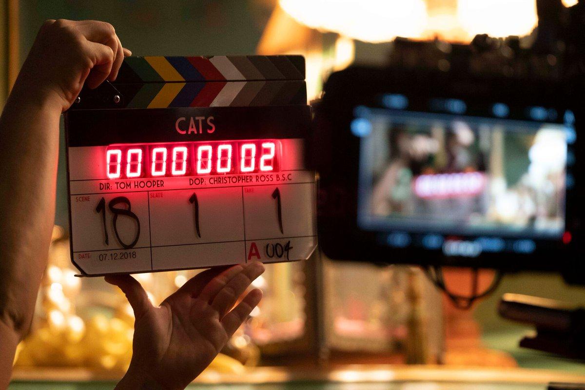 #CatsMovie starts production today! Starring @JKCorden #JudiDench @jasonderulo @idriselba @IAMJHUD @IanMcKellen @taylorswift13 @RebelWilson<br>http://pic.twitter.com/jkgbpo7u5S