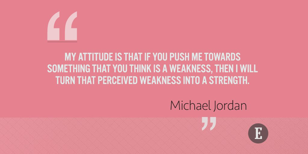 Turn that weakness into a strength.