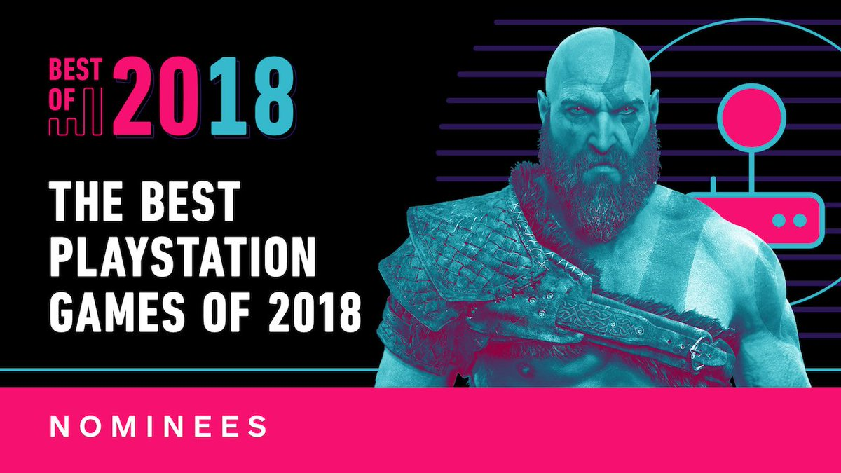 From God of War to Spider-Man, heres the official list of IGNs nominees for best PS4 Game of 2018. go.ign.com/L4Fcgvh