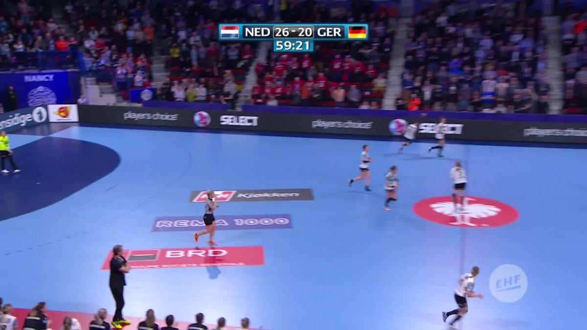 EK handbal: Nederland naar de halve finale