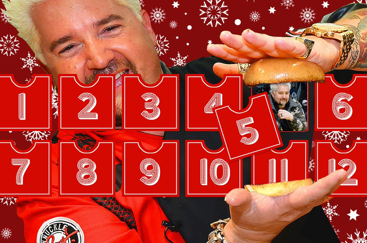The 12 Days of Guy Fieri: Diners, Drive-ins and Do-Gooding https://t.co/8QekHDUGX8