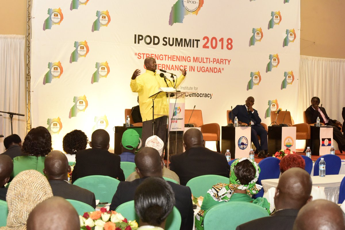 .@KagutaMuseveni: I always welcome the opportunity for dialogue. To me, dialogue is a command from God. When I come out & say I want to lead people & then say I do not want to talk to so & so, I am failing in my mandate Speaking at #IPODSummitUg. Details: goo.gl/whpq72