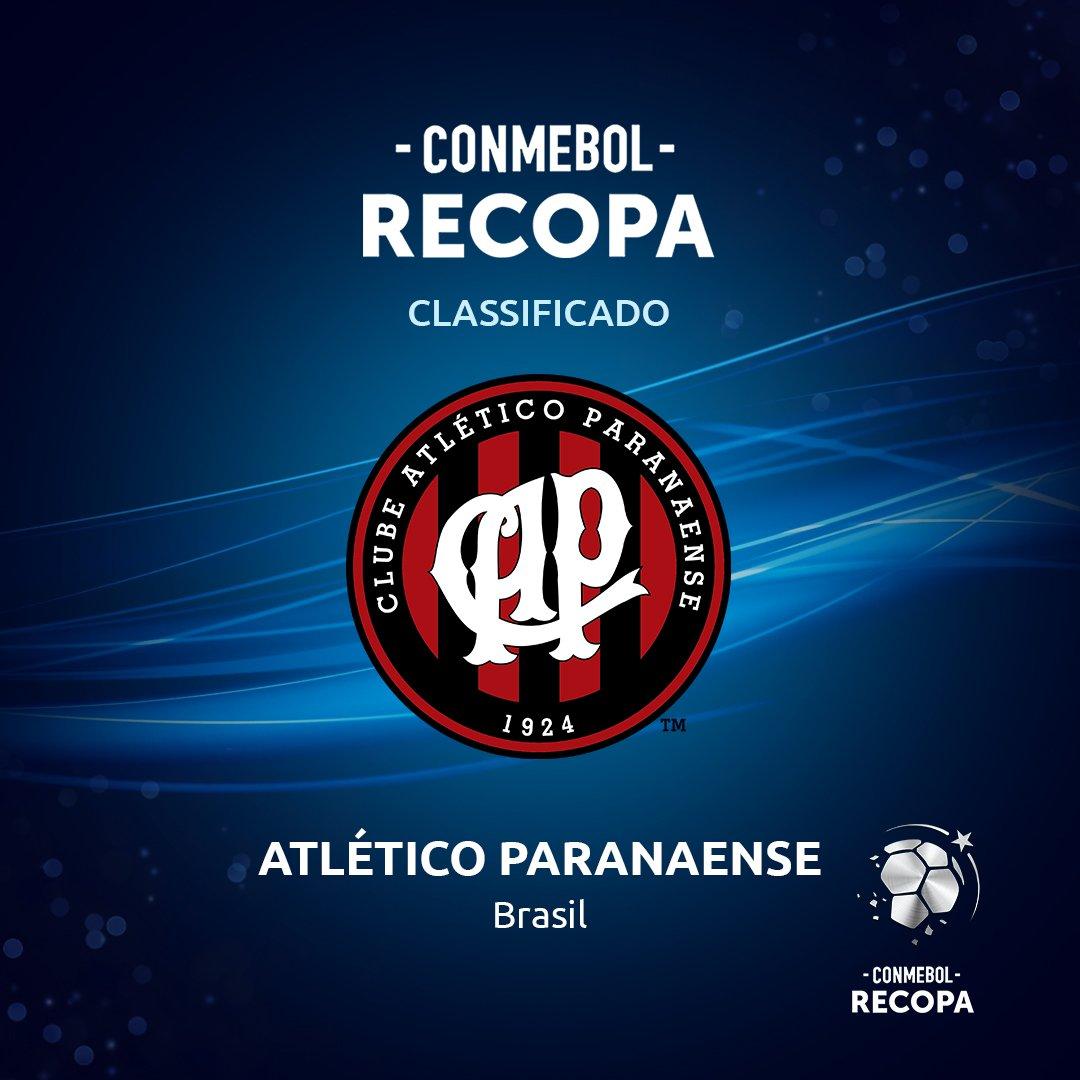 ⚫🔴¡Nuevo clasificado! @atleticopr es el campeón de la CONMEBOL @Sudamericana🌪 y jugará ante @CARPoficial por la #CONMEBOLRecopa