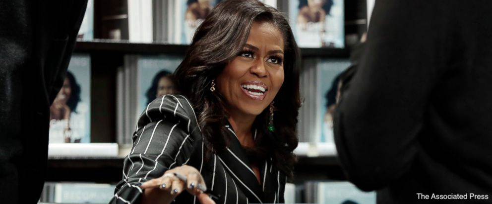 Sales for Michelle Obama&#39;s memoir top 3 million as the former first lady extends her book tour into 2019.  https:// abcn.ws/2RPk6Nb  &nbsp;  <br>http://pic.twitter.com/vlfmrMfftu