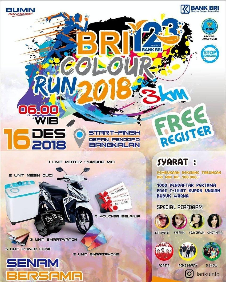BRI Colour Run • 2018