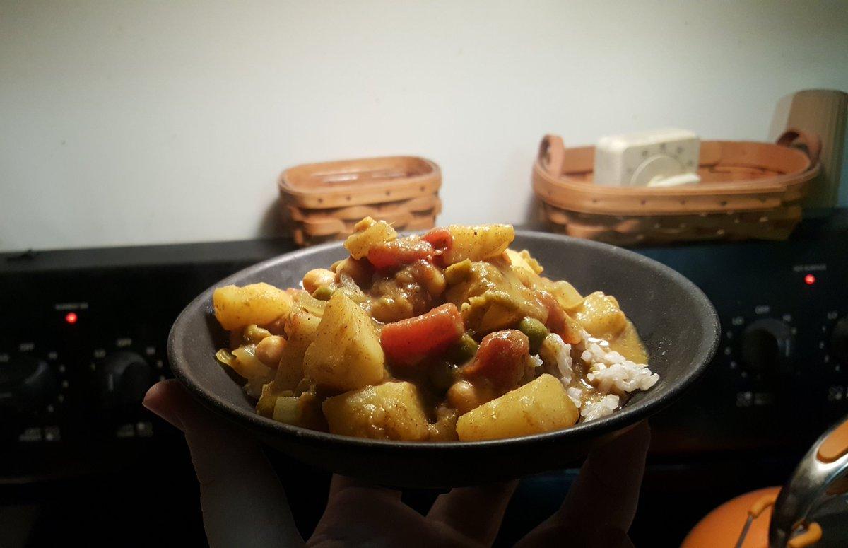 Shoutout @yaperboi on the vegan curry recipe 👌🏼