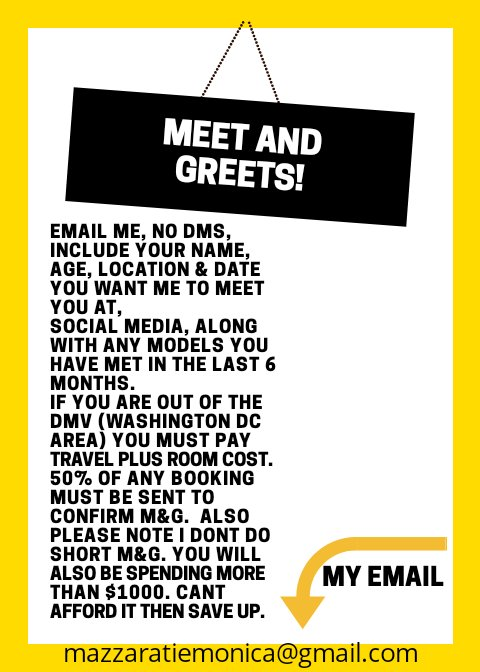 Meet and greets  available but limited https://t.co/VqSDwnkauW